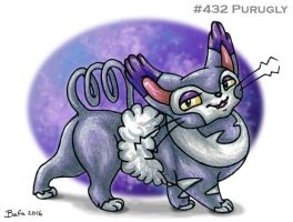 #432 Purugly