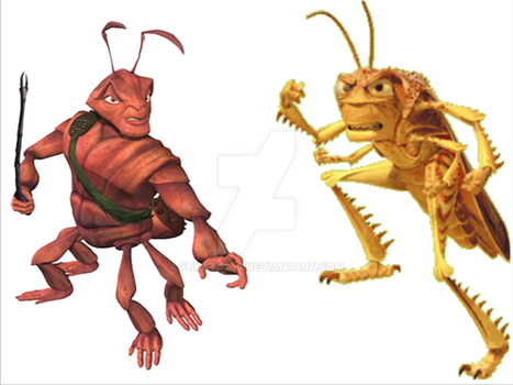 Antz And A Bug S Life Matchup Ideas By Fukata246 On Deviantart