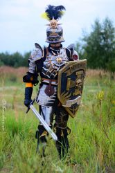 Knight of the Blazing Sun by Gilean33
