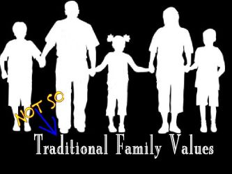 Family Values? by AsaGreen