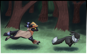 The Chase by Xelvanas