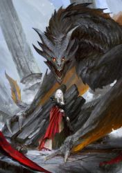 Game of Thrones: Dracarys by theDURRRRIAN