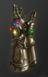 The Infinity Gauntlet by TheOmegaRidley