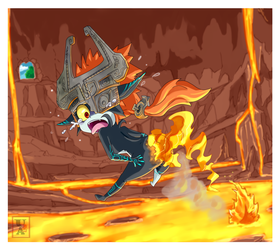 Commission .: Midna :. by Icandoittoo