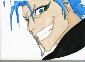 Grimmjow by 12bubbles12