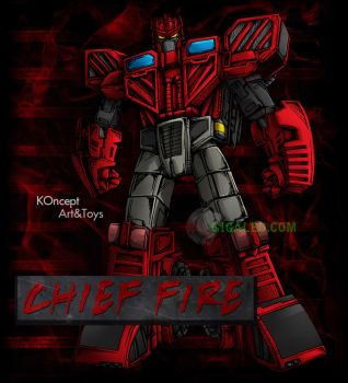 Chief Fire by Giga-Leo