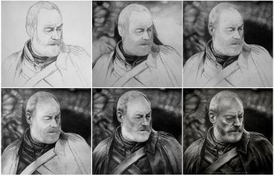 Davos (Game of thrones) WIP by MeduZZa13