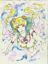 Super Sailor Moon by tyuryo555