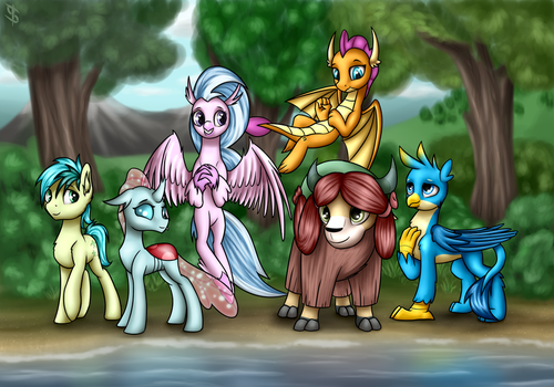 MLP FiM Season 8 new characters [commission] by 6EditoR9