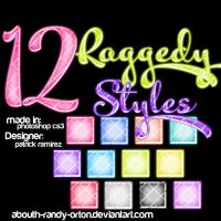 12 Raggedy Styles For Photoshop by AbouthRandyOrton