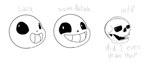 When Detailing Sans by TropicaIDeer