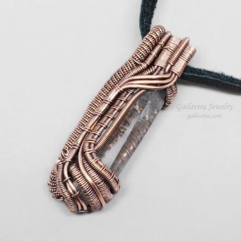 Another Heady Wire Wrap Pendant by Gailavira