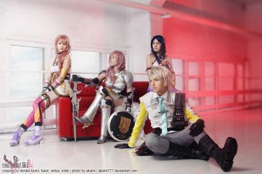 Final Fantasy XIII-2. We all save the future by DenikaKiomi