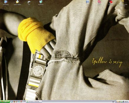 Yellow is sexy - Desktop 05.08 by yunchen