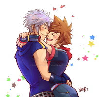 [Kingdom Hearts] Riku is here! by naccholen