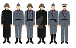Danish Royal Army uniform - 1928 variant by superbattledroid