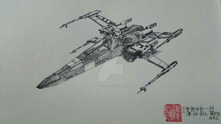 T-70 X-wing Star Fighter