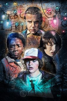 StrangerThings by jonpinto