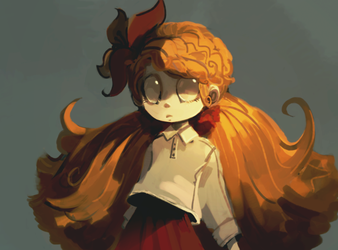 Quick Wendy Paint by CoffeeSnake
