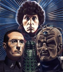 Genesis of the Daleks by Marc137