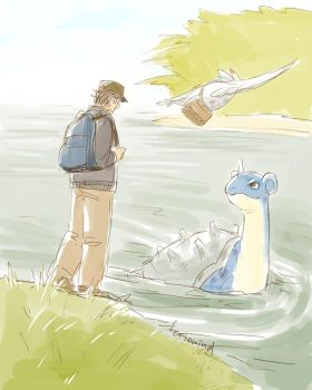 AVENGERS+PKMN - keep on moving by FerioWind