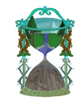 Hourglass Of Time by mizu456