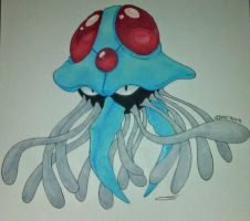 Tentacruel  by Darkmoon-Creations