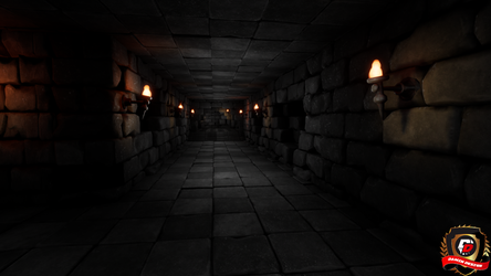 Unreal Engine 4 Forgotten Ruins by DaminDesign