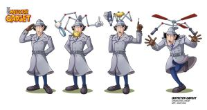 INSPECTOR GADGET Study by VdVector