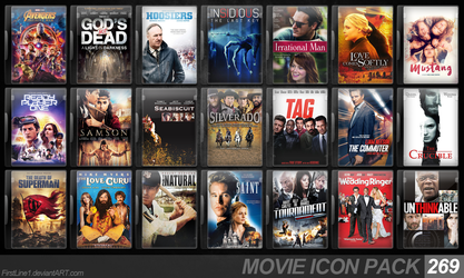 Movie Icon Pack 269 by FirstLine1