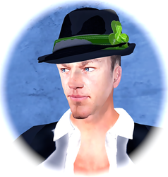 My avatar in Second Life by pcellis