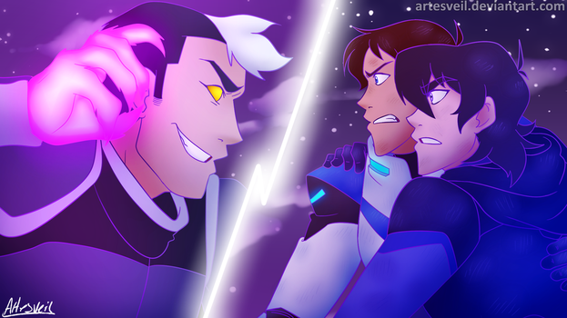 Voltron|Together! by ArtesVeil