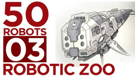 Robotic Zoo by BryanSevilla