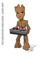 Baby Groot by Inspector97