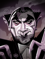 Bela Lugosi by RussCook