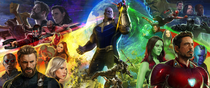 Marvel Avengers Infinity War Poster HD by NarutoRenegado01