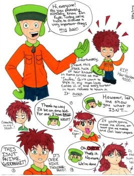 SP - Kyle's hair by Moonkitty