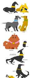 Thor Dogs by oso-oso
