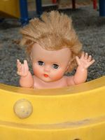 Dolly at the playground 5 by JensStockCollection