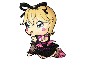 Shadow Hearts - Hilda Chibi by Chibivi-Linearts