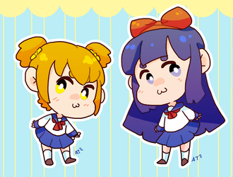 Pop team epic by Artist-squared