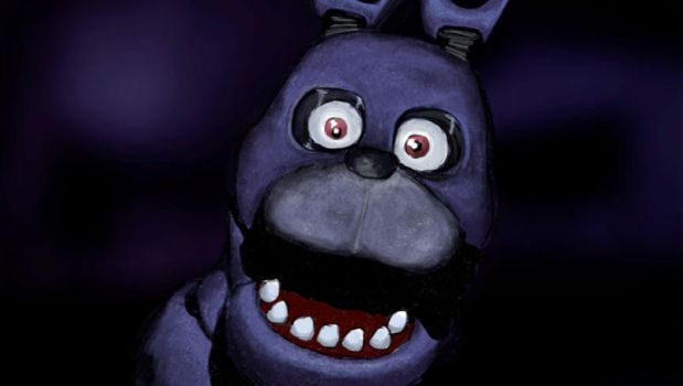 Bonnie, Five Nights At Freddys by RapidDisillusion
