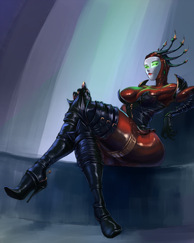 Hexadecimal commission by cutesexyrobutts