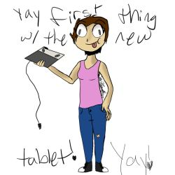 new thing because new tablet by AuricLowell