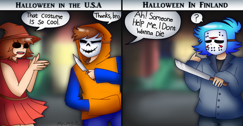 No Halloween For Me by Mr-Ms-Faded