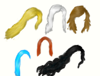 Hair study 1 by Zephy10