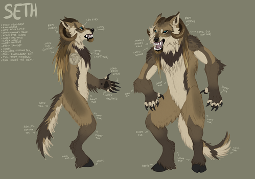 Seth fursuit project by Kay-Ra