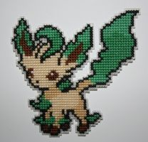 Leafeon by behindthesofa