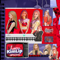 417 Kim Lip (LOONA) Png pack #01  by happinesspngs