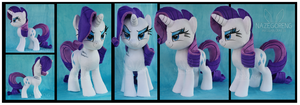 Gift: Rarity Custom Plush by Nazegoreng